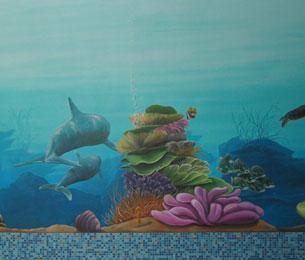 muurschildering dufois